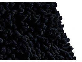 Dreamweavers Spiky Black Rug
