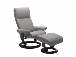 Stressless Aura Recliner Chair with Footstool