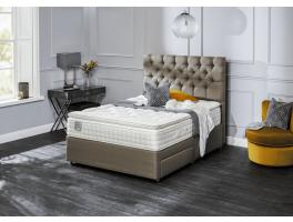 Relyon Dreamworld Ullswater Natural Silk 2900 Divan Bed