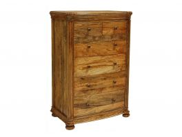 Vogue Bedroom 6 Drawer Tall Chest