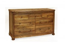 Vogue Bedroom 7 Drawer Wide Chest