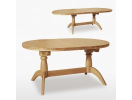 Woodland Living & Dining Extending Oval Table