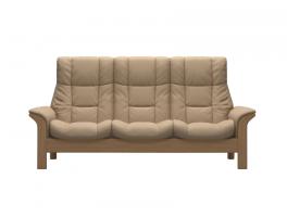 Stressless Windsor High Back 3 Seater Sofa Quick Ship