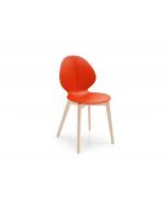 Calligaris Basil Wooden Legged Chair