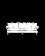 Duresta Burford Grand Split Sofa Scatter Back