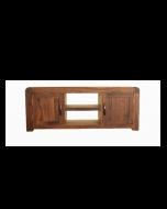 Baumhaus Shiro Walnut Widescreen Television Cabinet