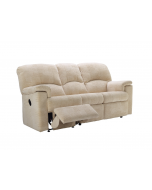 G Plan Chloe 3 Seater Manual Recliner Sofa Double