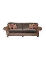 Alexander & James Hudson 4 Seater Standard Back Sofa