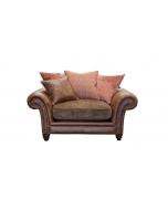 Alexander & James Hudson Pillow Back Snuggler Chair