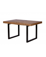 Ruston Living & Dining Small Extending Dining Table & 4 Chairs
