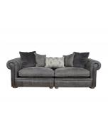 Alexander & James The Retreat Leather Midi Split Sofa