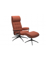 Stressless London Recliner Chair and Footstool
