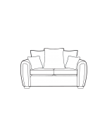 Alstons Memphis 2 Seater Sofa Pillow Back
