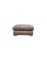 Alexander & James Pemberley Leather Footstool