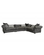 Alexander & James The Retreat Leather 4 Piece Corner Sofa