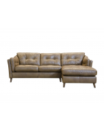 Alexander & James Saddler Chaise Sofa RHF