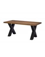 Harlow 180cm X Leg Dining Table