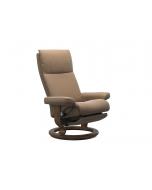 Stressless Aura Classic Chair with Leg Comfort