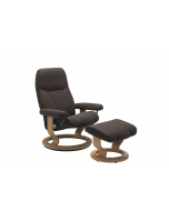 Stressless Consul Classic Chair with Footstool