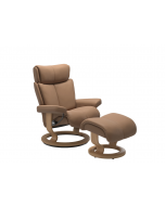 Stressless Magic Classic Chair with Footstool