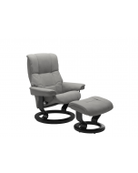 Stressless Mayfair Classic Chair and Stool