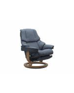 Stressless Reno Classic Chair with Leg Comfort