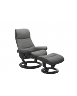 Stressless View Classic Chair with Footstool