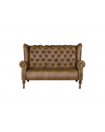 Alexander & James Theo Leather Highback Sofa