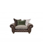 Alexander & James Wilson Pillow Back Snuggler Chair