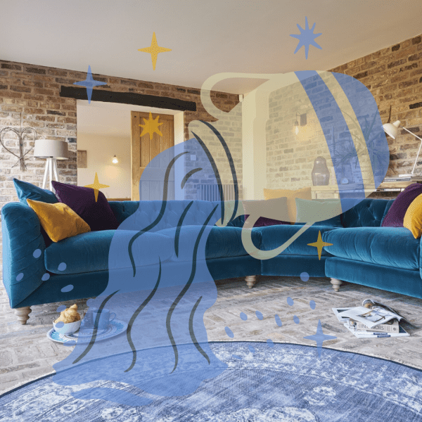 Home Horoscope: How to Style Your Living Room Like an Aquarius